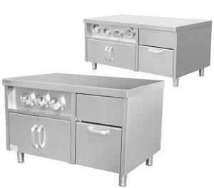 Mobilier de cuisine / inox